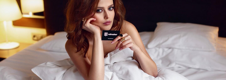 Refresher Dievča Michaela Karaková: Priala by som si, aby boli modelky stelesnením ženských kriviek