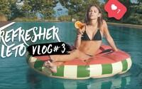 Refresher leto vlog #3: Bizarná zábava vSenci, zachránené vinice anájdená Barbora Bakošová