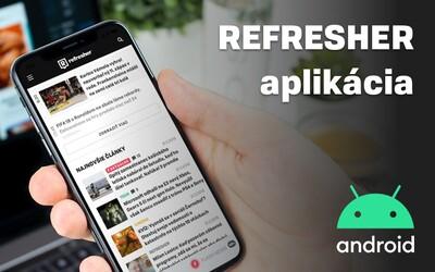Refresher Android aplikácia: Články na jeden klik a upozornenia na najdôležitejšie novinky