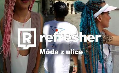 Refresher outfity: Ako vyzerá pouličná móda v podaní mladých Bratislavčanov?