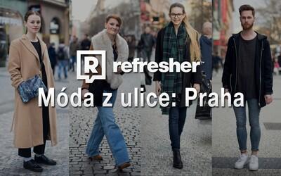REFRESHER outfity – na koho jsme narazili při toulkách pražskými ulicemi?