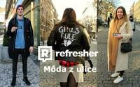 REFRESHER outfity: Vyrazili jsme do ulic, abychom zjistili, jak mladí Češi ozvláštnili své únorové looky