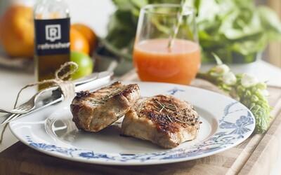 Refresher recept #15: Falošný steak z bravčového karé