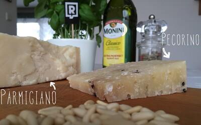 REFRESHER recept: Jarní bazalkové osvěžení z Ligurie – Pesto alla Genovese