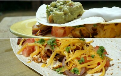 REFRESHER recept: Kuřecí quesadilla s guacamole jistojistě zpestří jinak jen burgerové a steakové grilovačky
