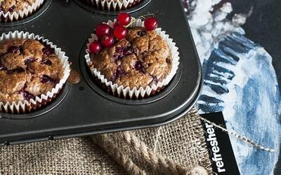 Refresher recept: Šťavnaté ríbezľovo-jogurtové muffiny