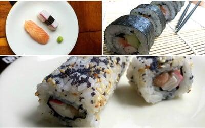 REFRESHER recept: Vykouzli si kousek Japonska i u sebe doma, připrav si své sushi
