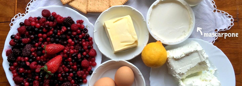REFRESHER recept: Žádný šisake ani šízechachy, ale pořádný cheesecake s lesními plody