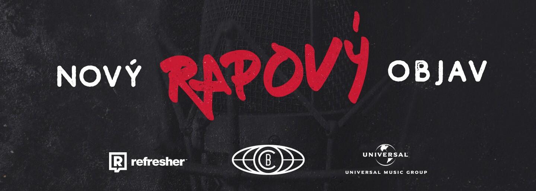 Refresher, Universal Music a Comebackgang hľadajú rapový objav. Ak máš talent a vieš sa prezentovať, spravíme z teba osobnosť