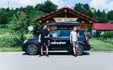 Refresher v lete precestuje celé Slovensko aČesko. Pridaj sa do tímu!