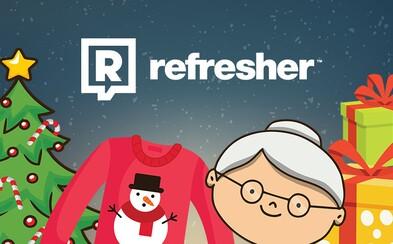 Refresher Vánoce: Vymysleli jsme způsob, jak obdaruješ dva lidi jedním dárkem