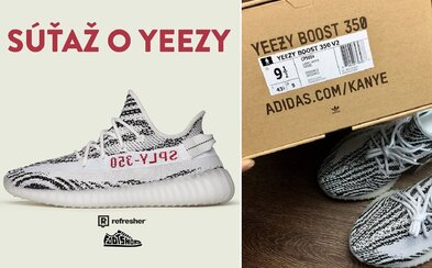 Refresher x Footshop: Vyhraj Yeezy Boost 350 V2 Zebra v tvojej veľkosti úplne zadarmo
