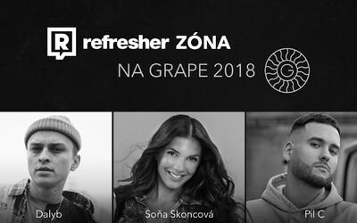 Refresher Zóna aj na Grape Festivale 2018! Ako bude vyzerať jej program?