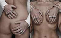 Reklamná kampaň na šperky ako lusk. I Love Ugly propaguje prstene pomocou ženských tiel