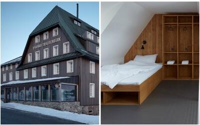 Rekonstrukce více než stoleté horské chaty z Česka, ve které můžete prožít víkend jako z pohádky