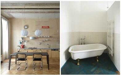 Rekonstrukce ze Znojma plná moderních detailů, která nechává vyniknout i původní krásy bytu