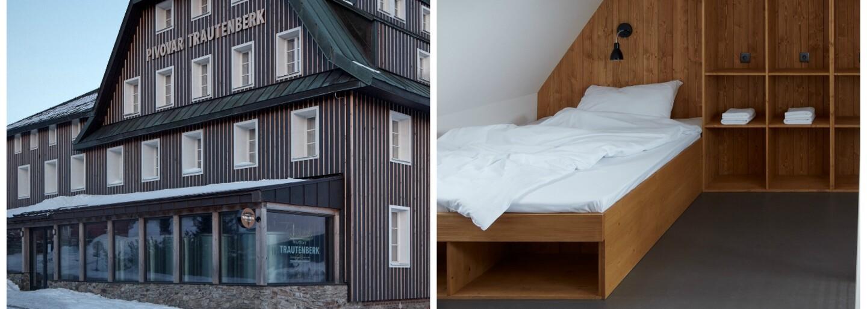 Rekonštrukcia vyše storočnej horskej chaty z Českej republiky, v ktorej môžete prežiť víkend ako z rozprávky