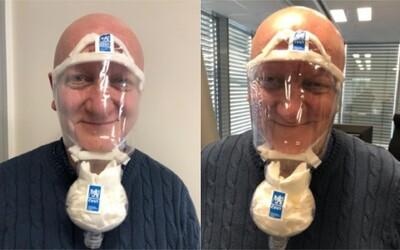 Rektor ČVUT vymyslel, jak si snadno doma vyrobit účinnou masku proti koronaviru