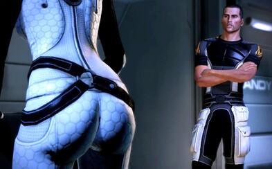 Remaster trilógie Mass Effect odstráni kamerové zábery na sexi zadky ženských postáv. Boli príliš sexistické