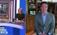 Reportér v televizi si zapomněl obléci kalhoty. V trenkách, košili a saku vysílal živě z domu