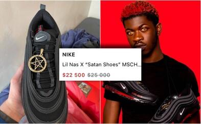 "Reselleři prodávají ""satanistické"" Air Maxy za 25 000 dolarů. Nike po žalobě žádá, aby je zákazníci vrátili"