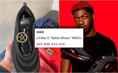 """Reselleri predávajú """"satanistické"""" Air Maxy za 25 000. Nike po žalobe žiada, aby ich zákazníci vrátili"""