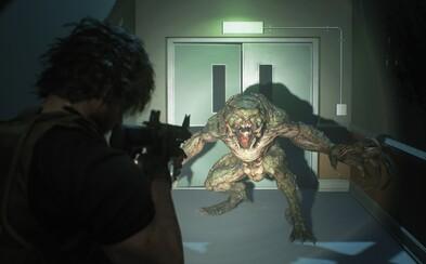 Resident Evil 3 odhaľuje monštrózneho záporáka Nemesisa s plameňometom. Skvelý trailer ohlasuje hororovú hru roka na apríl