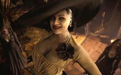 Resident Evil Village bude chladnokrvným hororom so sexi upírkami, vlkolakmi a gotickým hradom