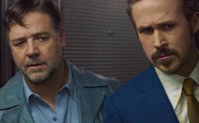 Retro trailer pre The Nice Guys s Croweom a Goslingom je úžasný v každom aspekte