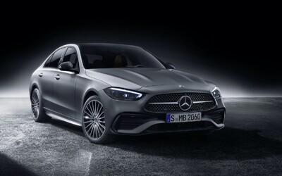 Revoluční interiér, ale hlavně technika. Zcela nový Mercedes-Benz třídy C už nabídne jen čtyřválce