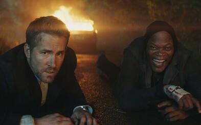 Reynolds a Jackson ako bodyguard a zločinec posúvajú hranice akčnej komédie plnej hlášok a naháňačiek na iný level (Recenzia)