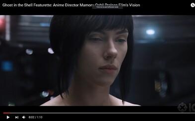 Režisér animovanej verzie futuristického Ghost in the Shell je šokovaný krásou a veľkoleposťou prichádzajúceho filmu