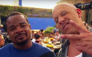 Režisér Fast 8 a herec Vin Diesel zdravia fanúšikov z natáčania filmu a posielajú ďalšie úžasné video
