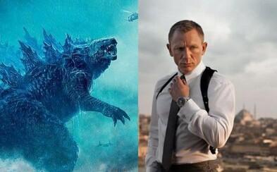 Režisér Godzilly 2 prirovnal pokračovanie k Votrelcom a Danny Boyle ľutuje odchod od nového Jamesa Bonda