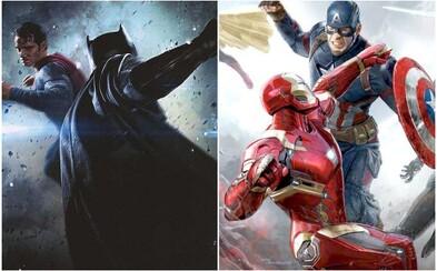 Režiséri Infinity War a Endgame pracujú na dokumente, ktorý zobrazí vojnu medzi DC a Marvelom