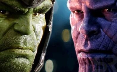 Režiséri Infinity War tvrdia, že Hulk sa Thanosa nebojí. Prečo sa teda nechce vrátiť na scénu?