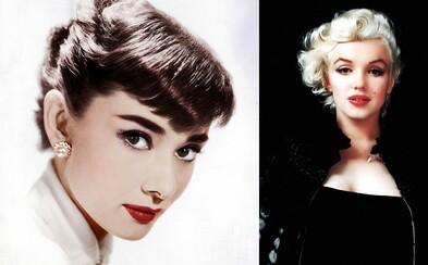 Riasy oddeľované špendlíkom, vytrhnuté zuby aj elektrolýza. Čo sa ukrývalo za krásou Marilyn, Audrey a ďalších hviezd?