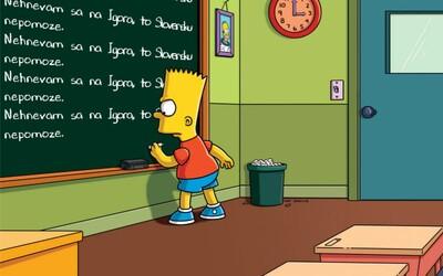Richard Sulík reaguje na kritiku premiéra obrázkom zo Simpsonovcov: Hnevať sa je zbytočné