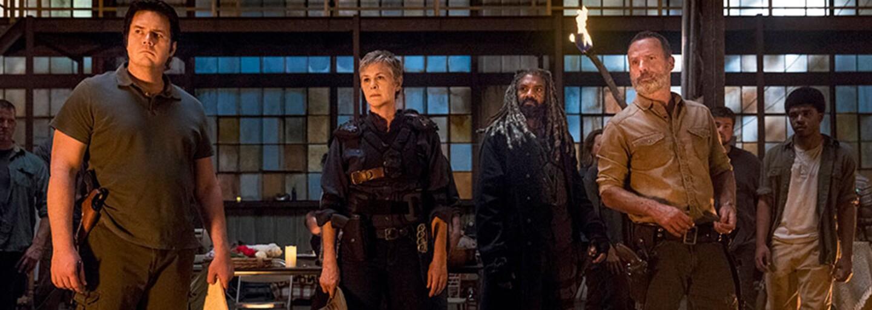 Rick a Maggie opustia v 9. sérii The Walking Dead. Užite si najnovšie zábery a spoznajte nových záporákov, ktorí nahradia Negana