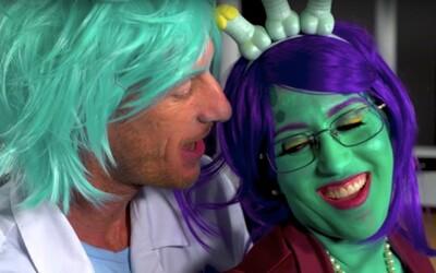 Rick a Morty dostali porno parodii s April O'Neil. Vtipného alkoholika a génia nahradil chapík Dick