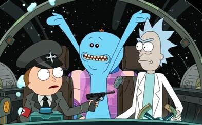 Rick a Morty se po 2 letech vrátili v úžasné první epizodě 4. série. Dělají si srandu z fašistů i lásky