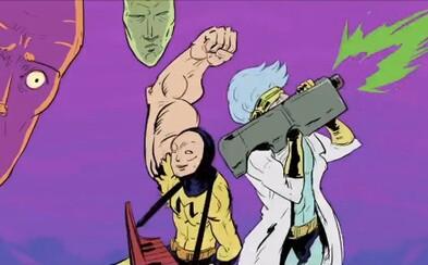 Rick a Morty sa v prvom lákadle na 4. sériu predstavujú ako drsní hrdinovia z akčného anime