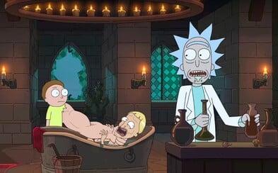 Rick a Morty vyrážajú v traileri z očakávanej 3. série na svoje najtemnejšie dobrodružstvo plné šialených nápadov a sci-fi absurdít