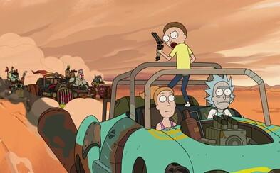 Rick & Morty sa vracajú späť v plnej sile. 3. séria začala návštevou Mad Maxa, výrazným posunom v deji a poriadnou dávkou humoru