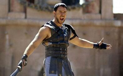 Ridley Scott chce natočiť Gladiátora 2 s Russellom Croweom. Údajne má v hlave plán, ako ho priviezť späť