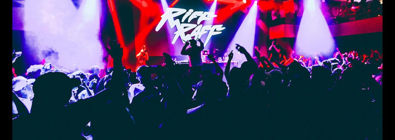 RiFF RAFF přivezl do Prahy živou show zámořských rozměrů a ovládl Lucerna Music Bar (Fotoreport)