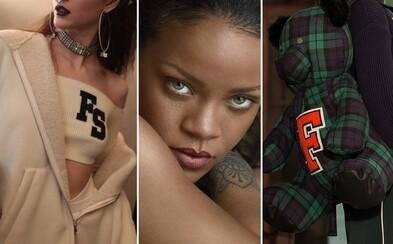 Rihanna a Puma spojili sily už po tretíkrát. Súťaž s Footshopom o kúsky z ich univerzitnej kolekcie a o profesionálne fotenie
