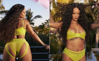 Rihanna na Instagramu ukazuje novou kolekci svého spodního prádla. V backstage videu ji střídají plus-size modelky