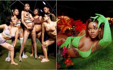 Rihanna počas newyorského fashion weeku vyzdvihla kolekciou spodnej bielizne rôznorodosť ženskej krásy
