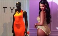 Rihanna použila plus-size figuríny v nové Fenty kolekci. Převislé břicho a široké boky mají pozitivní odezvu